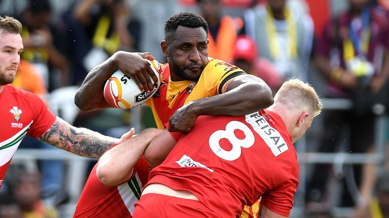 Wellington Albert and his Papua New Guinea team-mates will receive counselling