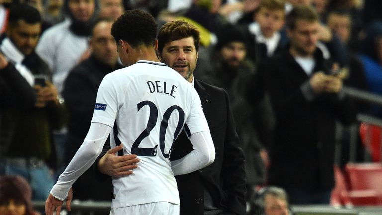 Spurs boss Pochettino has backed Alli to shine in 2018