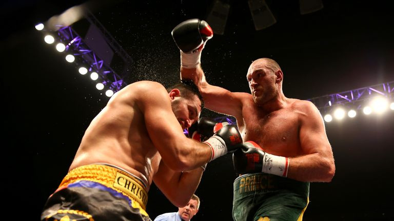 Fury's record has been amended after Hammer ruling