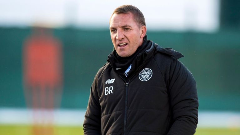 Brendan Rodgers has been impressed by the response to the defeat by Hearts