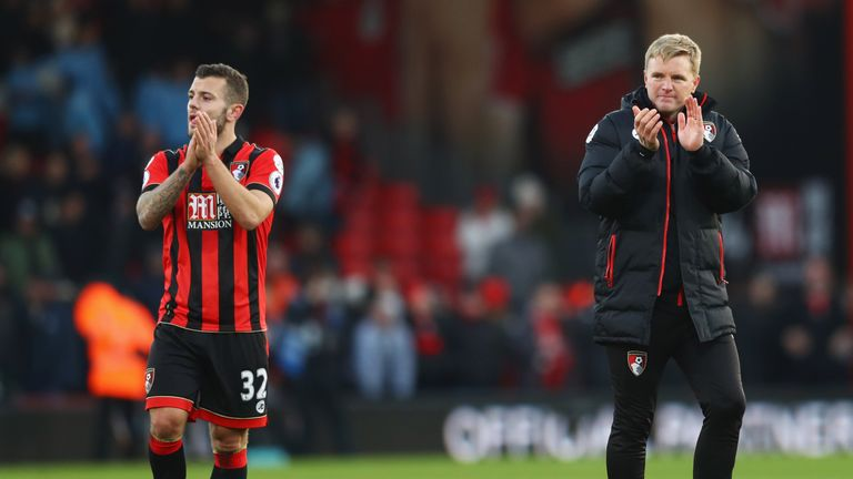 Jack Wilshere spent last season on loan at Bournemouth