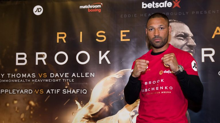 Brook says this is the year he should fight Khan now they are both with the same promoter