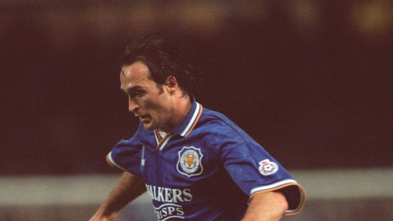 Football agent Lee Philpott during his playing days with Leicester City