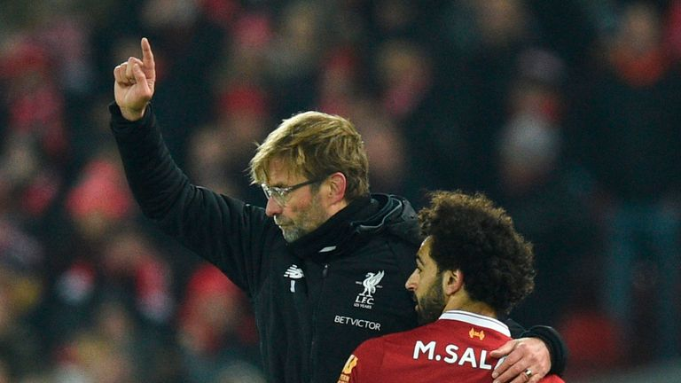 Philipp Degen believes Jurgen Klopp is the right coach to help Salah improve