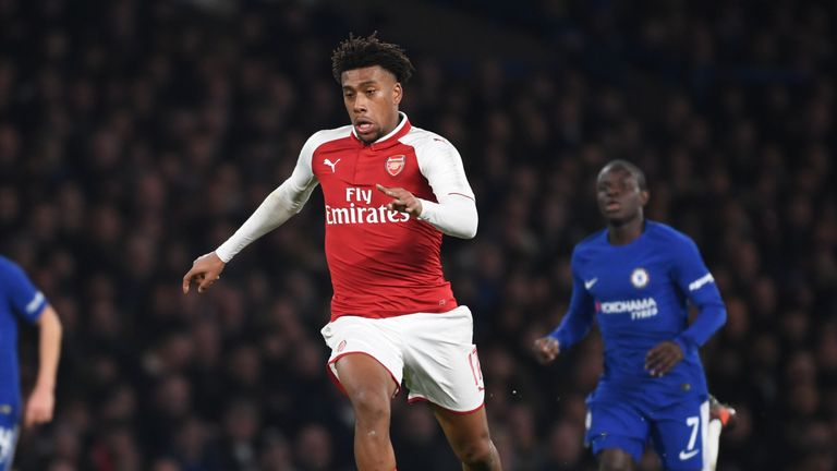 Alex Iwobi does not believe his hamstring injury to be serious