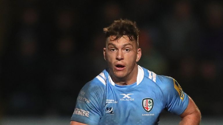 Alex Lewington is set to join Saracens at the end of the season from London Irish