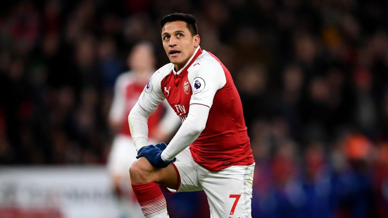 Alexis Sanchez is a January target for Chelsea, according to Sky sources