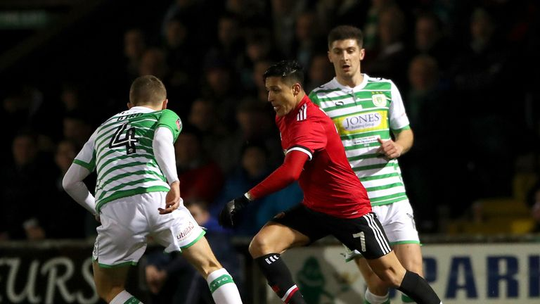 Alexis Sanchez is targeted by opposing players, says Mourinho