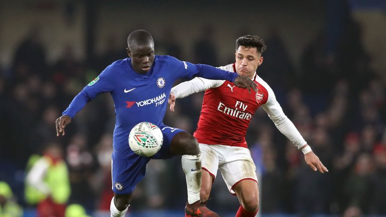 Kante has been linked with a move to Paris Saint-Germain