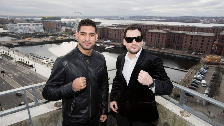 Khan makes his comeback against Phil Lo Greco on Saturday, live on Sky Sports