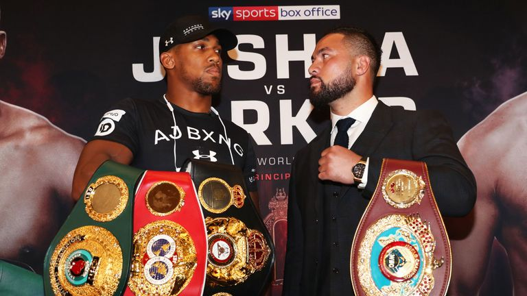 Anthony Joshua can add the WBO belt to his collection if he beats Joseph Parker