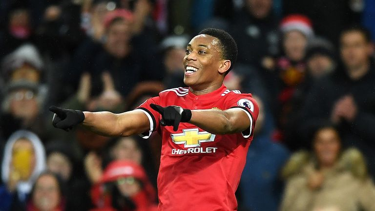 Anthony Martial is third in the popularity stakes in China behind Lionel Messi and Cristiano Ronaldo