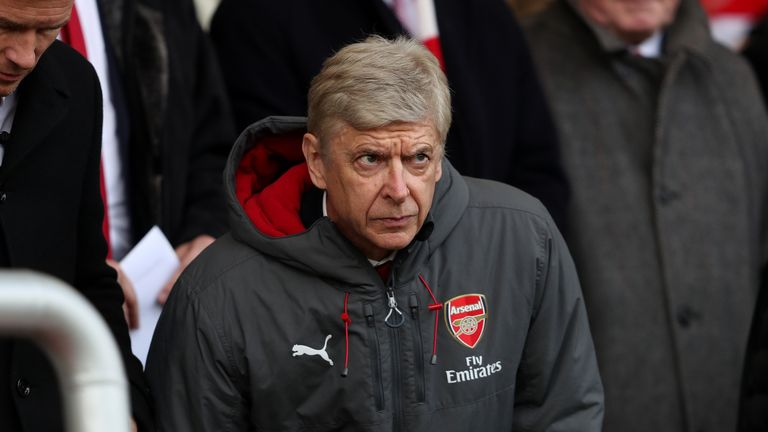 Arsene Wenger has seen his side fail to win any of their last five matches in all competitions
