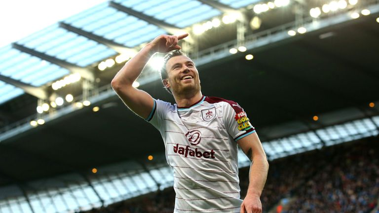 Chelsea have expressed an interest in Ashley Barnes