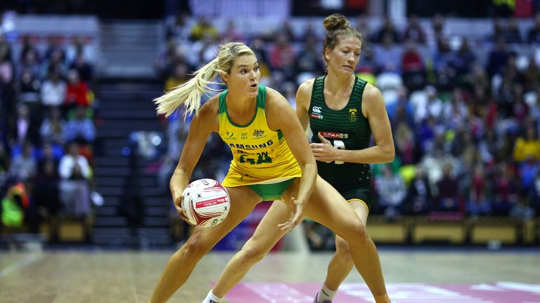 Australia won the first fixture of the Quad Series, beating South Africa in an evenly-contested match