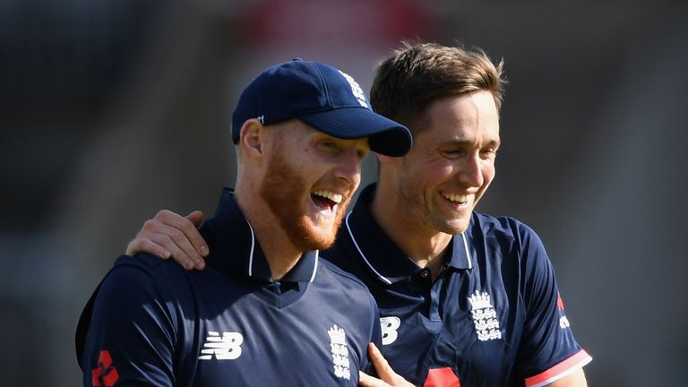 Ben Stokes will play for Rajasthan Royals, while England team-mate Chris Woakes was bought by Royal Challengers Bangalore