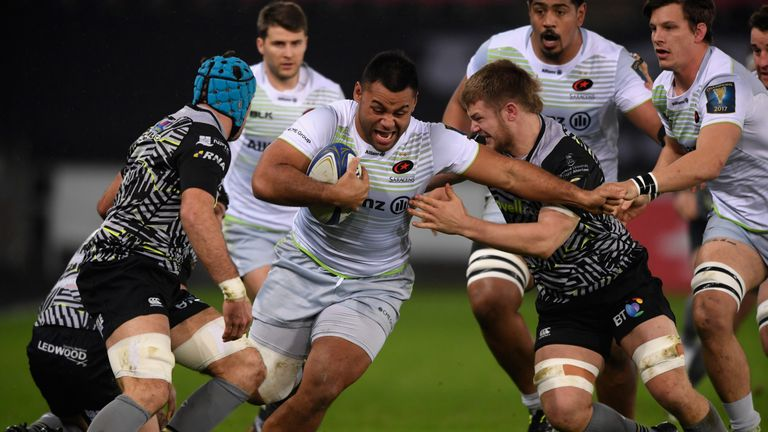 Vunipola made his second start after three months out with a knee injury