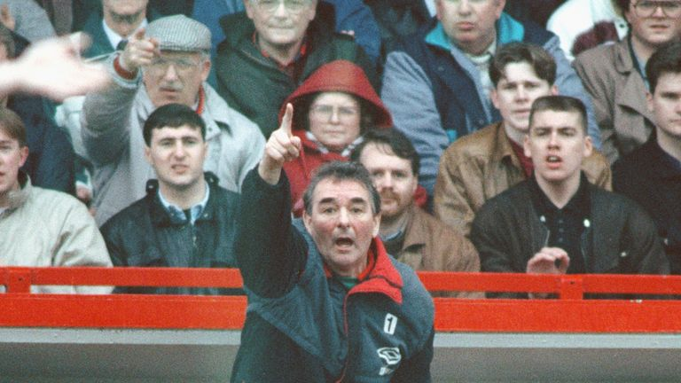Brian Clough was 'a guy on another planet', according to Arsene Wenger