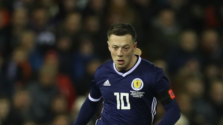 Callum McGregor is expected to start Scotland's friendly with Hungary
