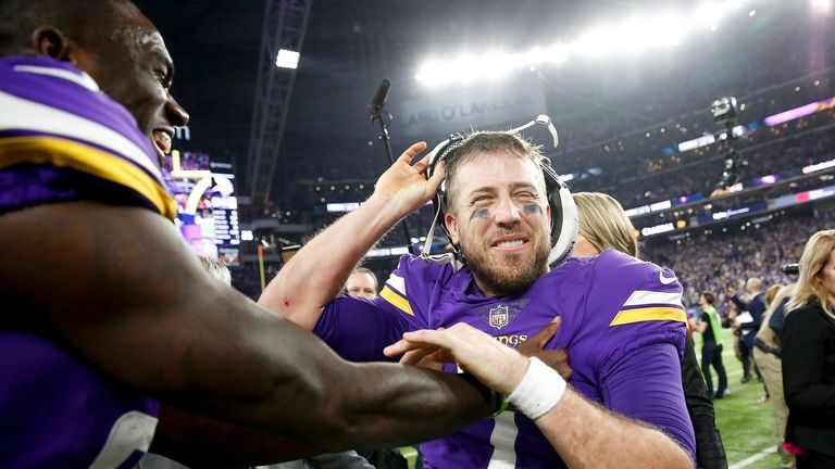 Case Keenum led the Vikings to the NFC Championship game but appears to be on his way to the Broncos