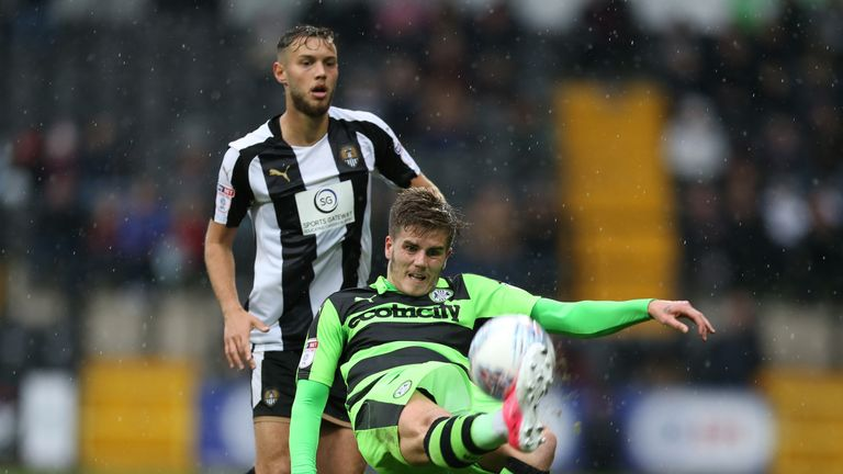 Charlie Cooper saw red against Wycombe