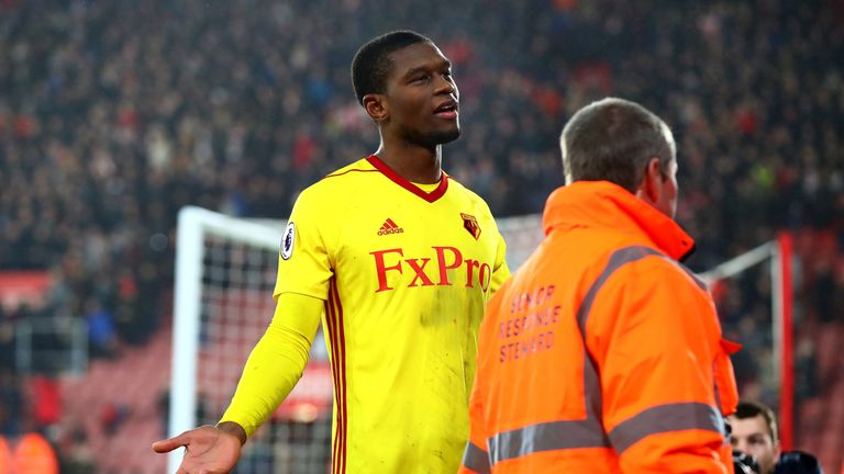 Christian Kabasele could be back in action for Watford