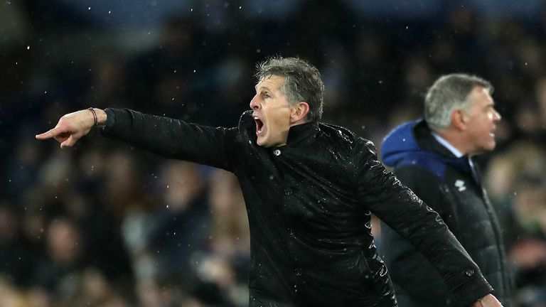 Claude Puel has improved Leicester since taking over from Craig Shakespeare, says Schmeichel