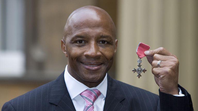 Cyrille Regis was awarded an MBE in 2008