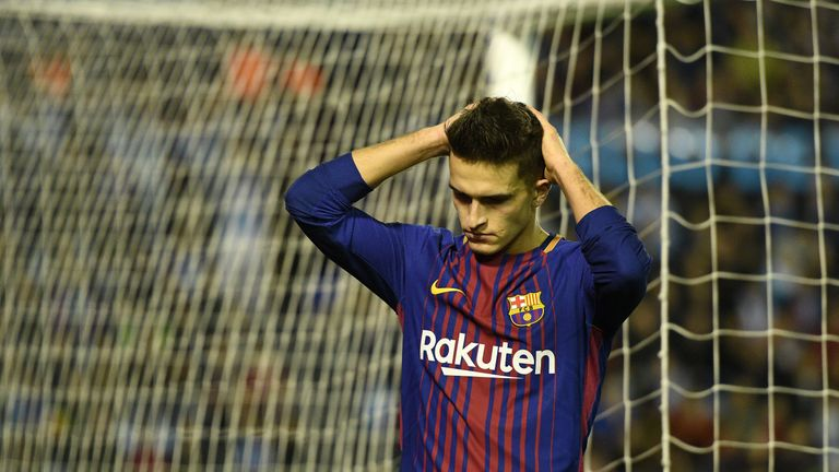 Denis Suarez missed a great opportunity