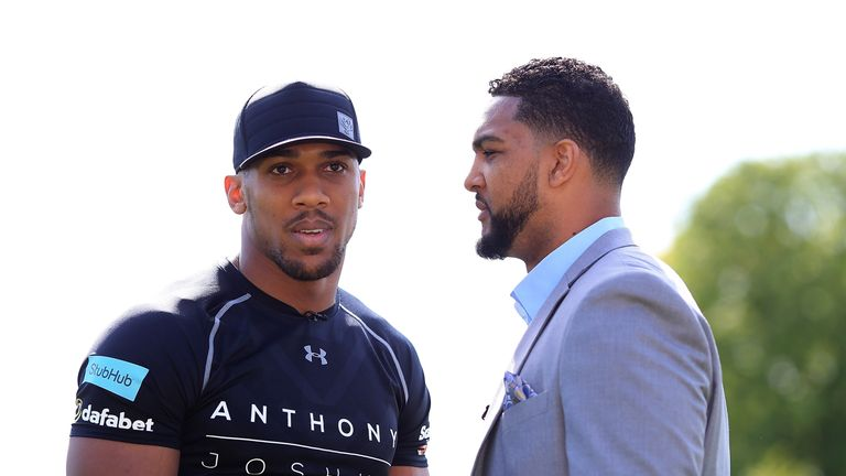 Breazeale (R) lost to Joshua but could now face Wilder
