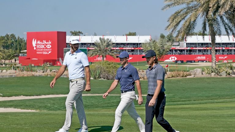 McIlroy, Johnson and Fleetwood were a combined 18 under par for the second round