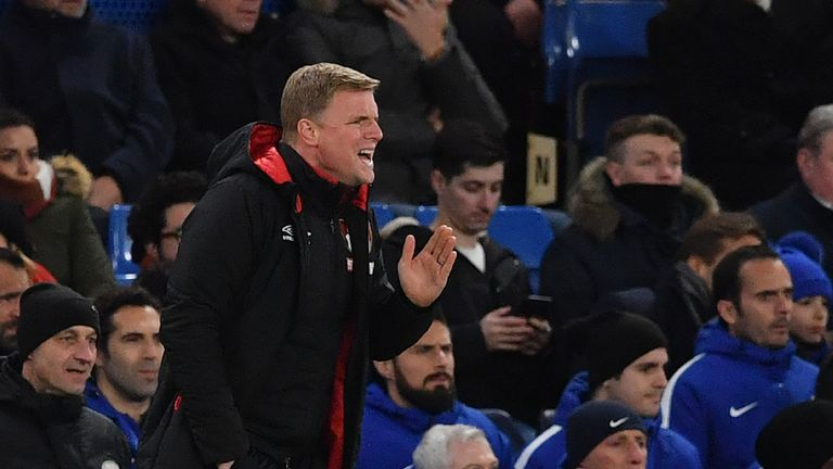 Howe described Bournemouth's win at Chelsea as one of their best in the Premier League