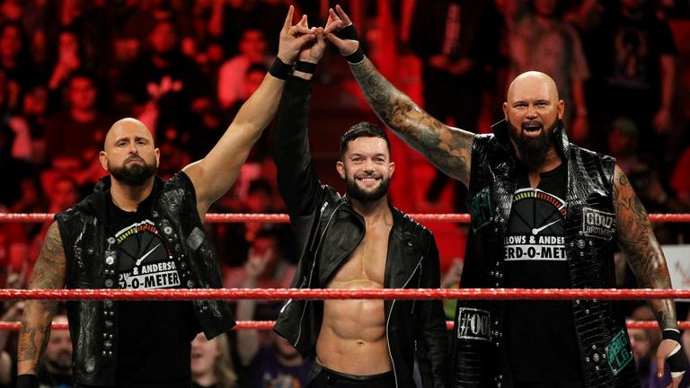 Finn Balor was reunited with Karl Anderson and Luke Gallows