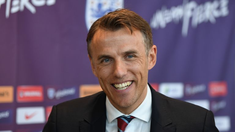 Phil Neville says the players were surprised when he said coaching England was his best experience in football