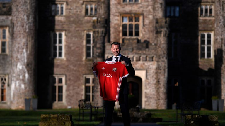 Giggs took charge of Wales in January
