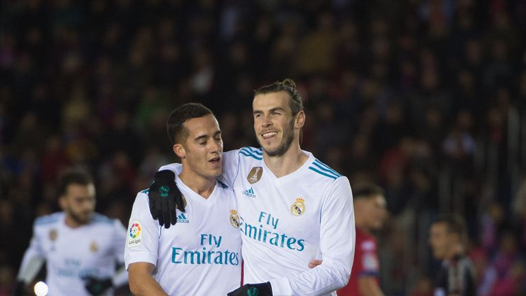 Gareth Bale scored the opener from the spot