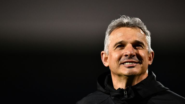 Gary Brazil is in caretaker charge of Nottingham Forest