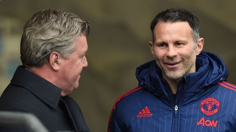 Ryan Giggs' only other spell as a manager was four games in charge of Manchester United in 2014