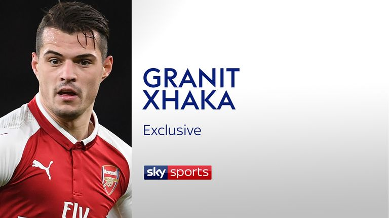 Granit Xhaka spoke exclusively to Sky Sports News about Alexis Sanchez and Henrikh Mkhitaryan