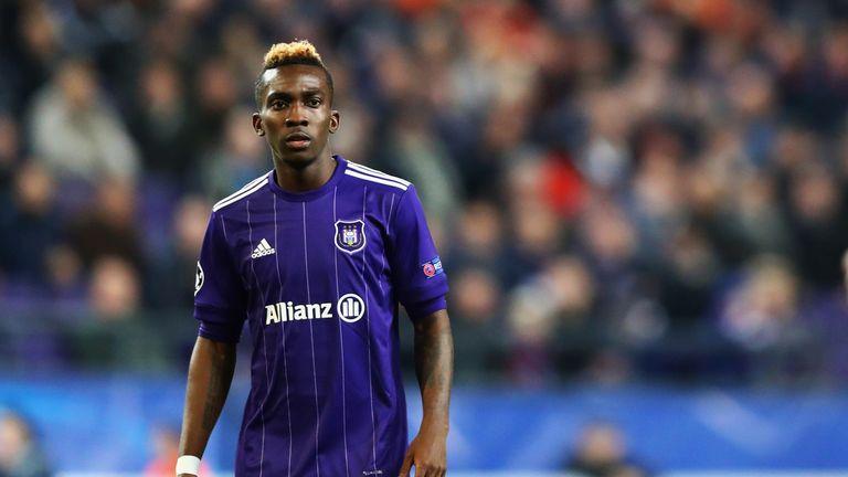 Henry Onyekuru has returned to Everton