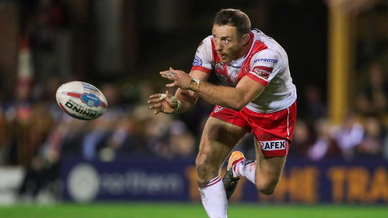James Roby is one of five St Helens players in the England EPS