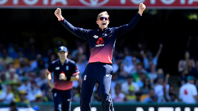 Joe Root took 2-31 as England's spinners starred at the Gabba