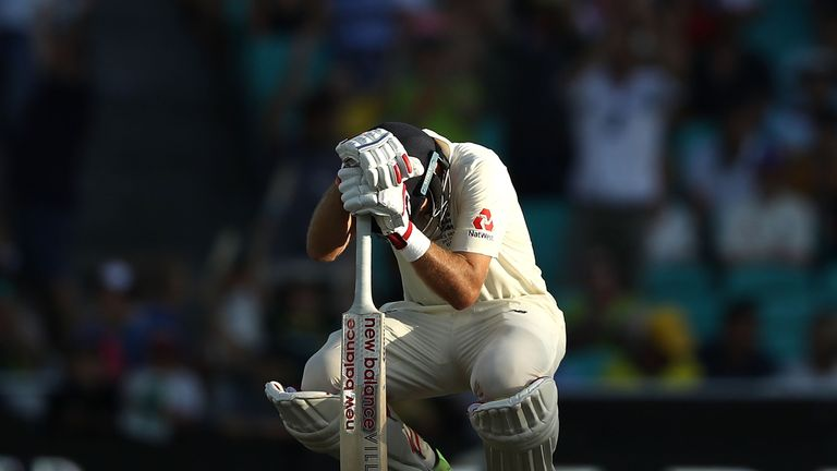 Root was unable to convert any of his seven half-centuries into three figures over the winter