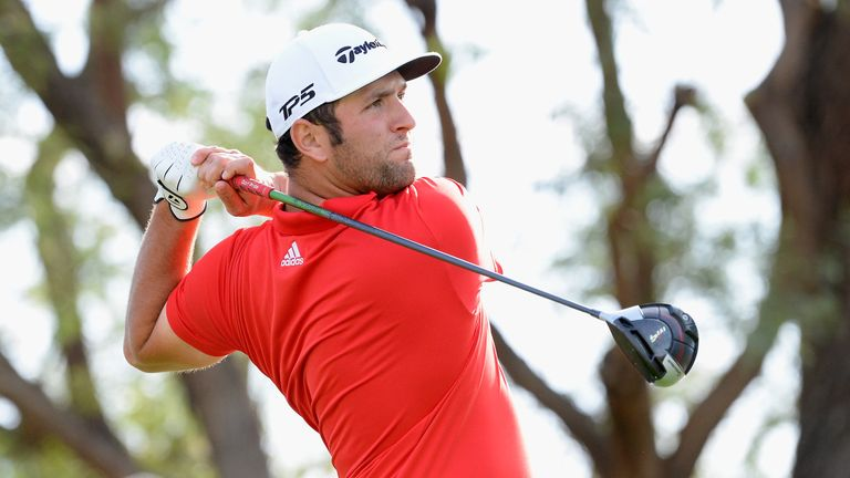 Rahm clinched his second PGA Tour title at the CareerBuilder Challenge