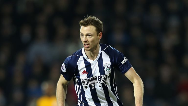 Jonny Evans is staying at The Hawthorns, despite interest from Arsenal