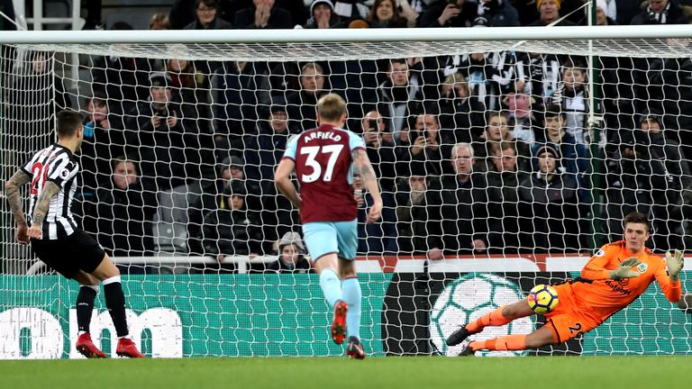 Nick Pope has flourished in Tom Heaton's absence