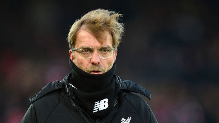 Jurgen Klopp's Liverpool must still navigate trips to Man Utd, Everton and Chelsea