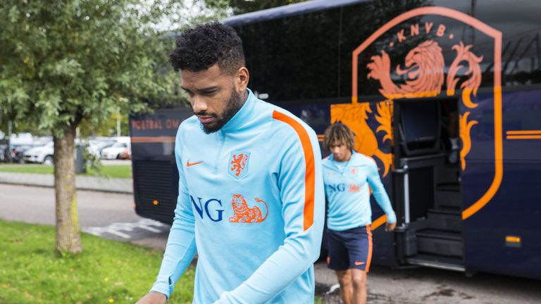 Jurgen Locadia has never represented the Netherlands senior side, although he has been called-up three times