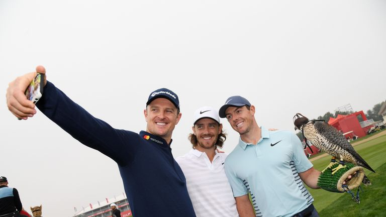 Justin Rose and Tommy Fleetwood are also in the field this week