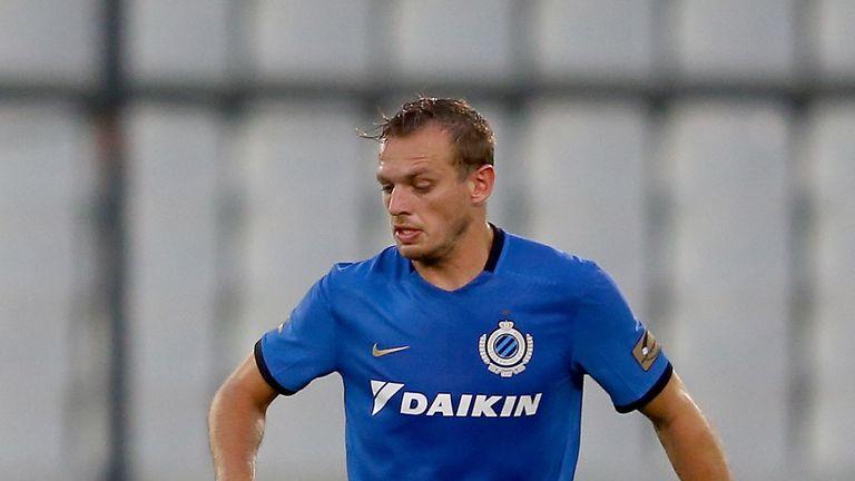 Laurens de Bock joined Club Brugge in 2013